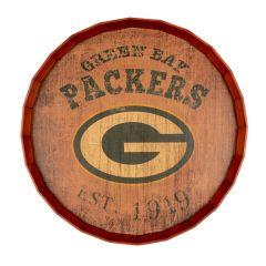 Packers Established Date Barrel Top
