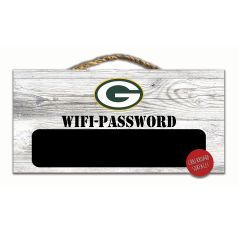 Packers Wi-Fi Password Wood Sign
