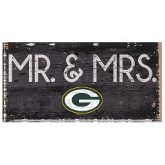 Packers Mr. & Mrs.Wood Sign