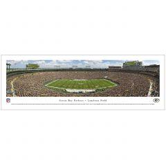 Lambeau Field 50 Yard Line Photo - Unframed