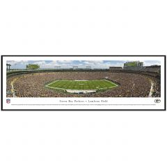 Lambeau Field 50 Yard Line Photo - Standard Frame