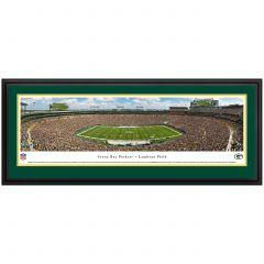 Lambeau Field 50 Yard Line Photo - Deluxe Frame