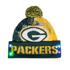 Packers Particle Light-Up Knit Hat