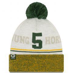 Packers #5 Paul Hornung Cuff Knit Hat