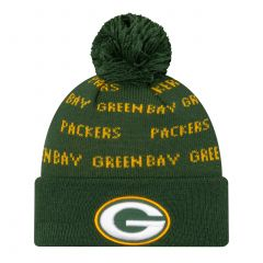 Packers Knit Repeat Pom Hat