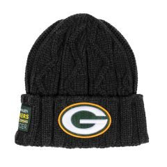 2020 Packers vs. Cancer Cable Knit Hat