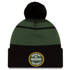 2021 Packers vs. Cancer Patch Knit Hat