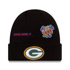 Packers Super Bowl Logos Cuff Knit Hat