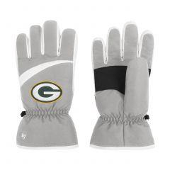 Packers '47 Gray Method Ski Gloves