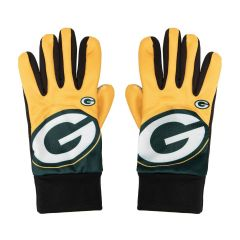 Packers Big Logo Texting Gloves
