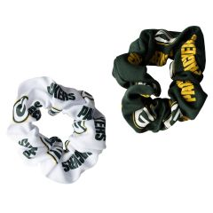 Packers 2-Pack Hair Scrunchies