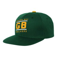 Packers Youth Team Code Flatbrim Cap