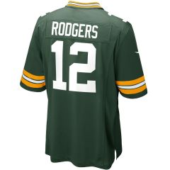 #12 Aaron Rodgers Home Youth Game Jersey