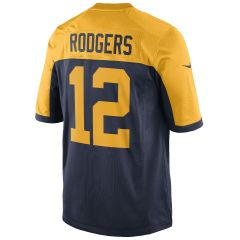 #12 Aaron Rodgers Youth Classic Game Jersey