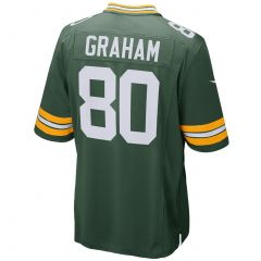 #80 Jimmy Graham Home Youth Game Jersey