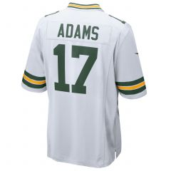 #17 Davante Adams Away Youth Game Jersey
