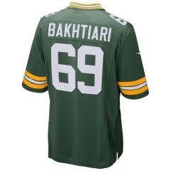 #69 David Bakhtiari Home Youth Game Jersey