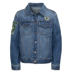 Packers Youth Team Victory Denim Jacket