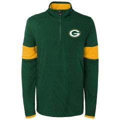 Packers Youth Yard Line 1/4 Zip Pullover