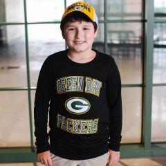 Packers Youth Chiseled Dri-Tek T-Shirt