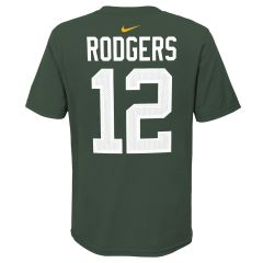 Packers Youth #12 Rodgers Player T-Shirt