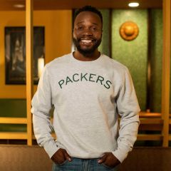 Packers 50s Classic Arched Fleece Crew