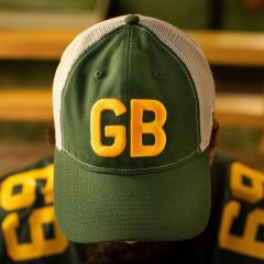Packers 50s Classic Meshback Trucker Cap