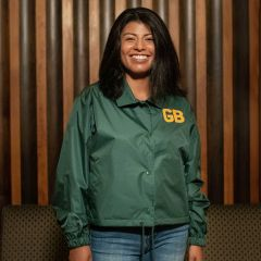 Packers 50s Classic Women's Cropped Jacket