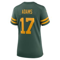 Packers 50s Classic Women's #17 Game Jersey