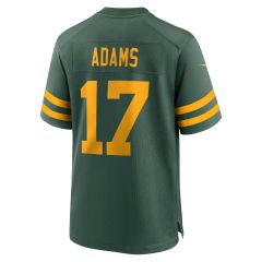 Packers 50s Classic #17 Adams Game Jersey
