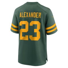 Packers 50s Classic #23 Alexander Game Jersey
