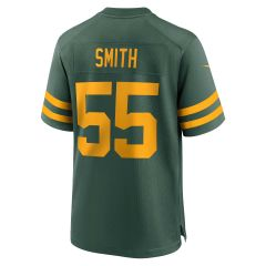 Packers 50s Classic #55 Smith Game Jersey