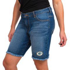 Packers Women's Bermuda Denim Short