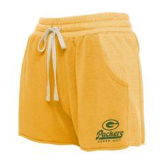 Packers Women's Fabric Mix Lounge Short