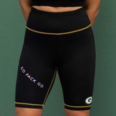 Packers Women's Erin Andrews Bike Short