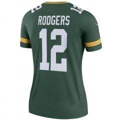 #12 Aaron Rodgers Home Women's Legend Jersey