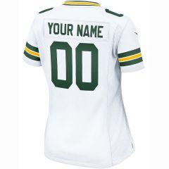 Packers Women's Custom Away Game Jersey