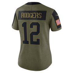 Salute to Service Women's #12 Rodgers Jersey