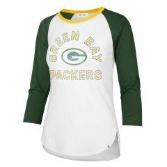 Packers Womens 47 Overturn 3/4 Sleeved T-Shirt