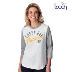 Packers Women's Commemorative 3/4 Sleeve T-Shirt