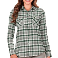 Packers Women's Easy Flannel Shirt
