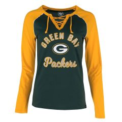 Packers Womens 47 Mendoza Lace Up T-Shirt