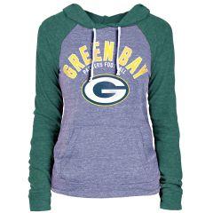 Packers Women's Bi-Blend Hooded T-Shirt