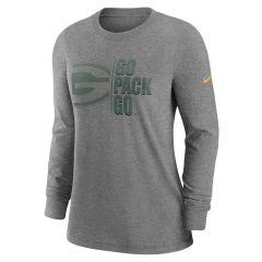 Packers Women's Split Local Logo T-Shirt