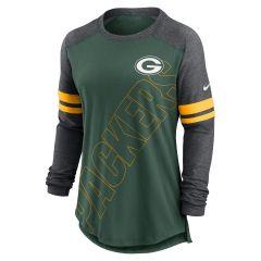 Packers Women's Sleeve Stripe T-Shirt