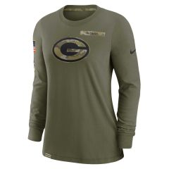 Packers 2021 Salute to Service Women's T-Shirt
