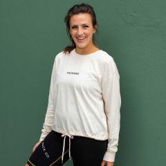 Packers Women's Erin Andrews Drawstring T-Shirt