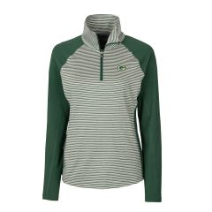 Packers Women's Forge Stripe 1/2 Zip Pullover