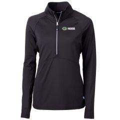 Packers Women's Adapt Eco 1/2 Zip Pullover