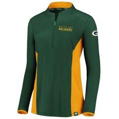 Packers Women's Clutch 1/2 Zip Pullover
